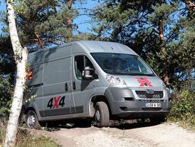 Jízdní dojmy: Užitkové Peugeoty 4x4 - Andělská spolupráce