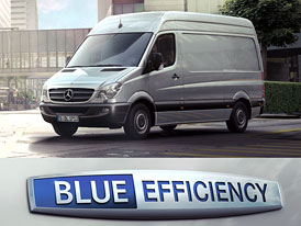 Jízdní dojmy: M-B Sprinter BlueEfficiency - Další úspory