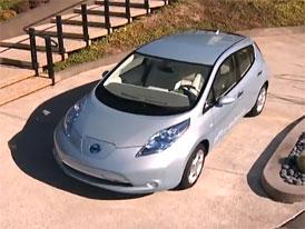 Elektromobil Nissan Leaf v USA v přepočtu už za 400 tisíc korun