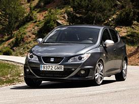 SEAT Ibiza: Nový základ 1,2 (44 kW) za 238.900,- Kč, Ibiza FR 2,0 TDI za 499.900,- Kč