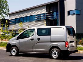 Nissan NV200 má titul International Van of the Year 2010