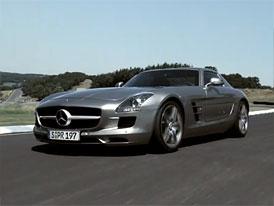 Video: Mercedes-Benz SLS AMG – Nový supersport na okruhu