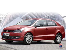 Spy Photos: VW Polo sedan – návrat do známých vod