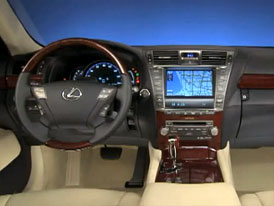 Video: Lexus LS 600h L – Pohled do modernizovaného interiéru