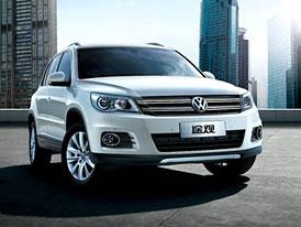 Volkswagen Tiguan: ��nsk� verze se p�edstavila v Guangzhou