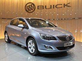 Buick Excelle XT: Opel Astra pro Čínu