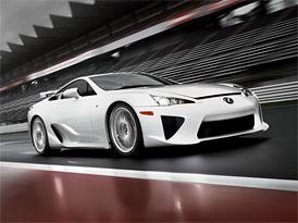 Lexus LFA jen na leasing, spekulanti mají smůlu