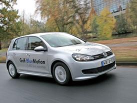 VW Polo, Golf i Passat BlueMotion: První jízdní dojmy