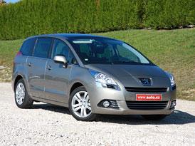 Peugeot 5008: První jízdní dojmy