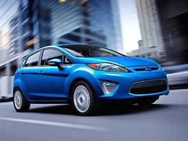 Ford Fiesta: Hatchback a sedan s motorem 1,6 Ti-VCT pro USA