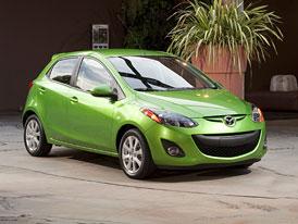 Mazda 2: Také dvojka míří za oceán