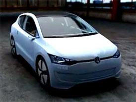 Video: Volkswagen Up! Lite – Hospodárný koncept s hybridním pohonem