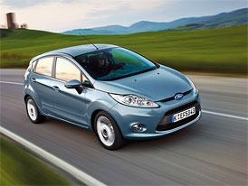 Ford Fiesta: Pětidveřová verze s klimatizací za 244.990,-Kč