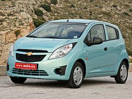 Chevrolet Spark: První jízdní dojmy