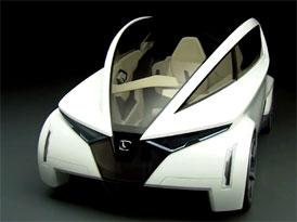 Video: Honda P-NUT – Design třímístného konceptu