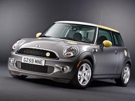 Mini E má v Británii zelenou, zájemci si ho mohou pronajmout