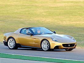 Ferrari P540 Superfast Aperta: Zlatá 599 GTB se zakázkovou karoserií