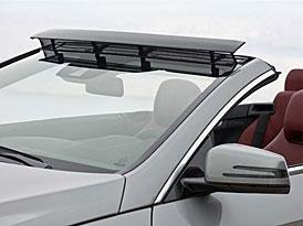 Mercedes-Benz E Cabrio: Aerodynamickymi prvky proti průvanu
