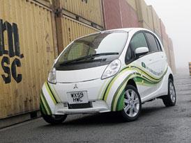 Mitsubishi i-MiEV: Snížení ceny pro Velkou Británii, elektromobil s vládní podporou za 720 tisíc