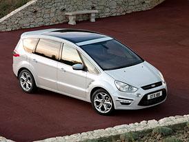 Český trh v prvním pololetí 2010: Ve třídě velkých MPV kraluje Ford, má přes polovinu trhu