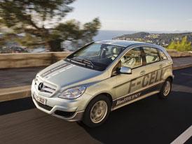 Mercedes-Benz B F-Cell: Vodíkové Béčko přichází do sériové výroby (podrobné informace)
