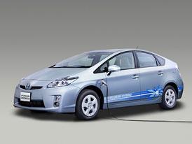 Toyota Prius Plug-in Hybrid: Příští rok na leasing, od 2011 v prodeji