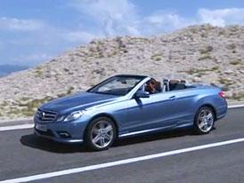 Video: Mercedes-Benz E Cabriolet – Jízda se složenou střechou