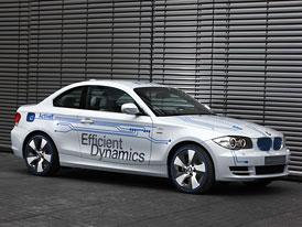 BMW Concept ActiveE: Mnichovští také chystají elektromobil