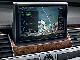 Audi A8: Multimediální rozhraní MMI s podporou Google Earth
