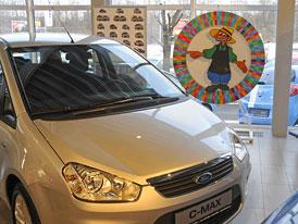 Ford Charouz: Slevu z ceny auta určuje kolo štěstí