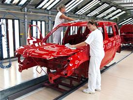 Výroba aut v Evropě v listopadu meziročně vzrostla, poprvé po 16 měsících