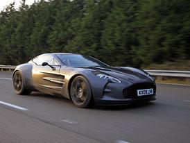 Aston Martin One-77 umí jet přes 354 km/h