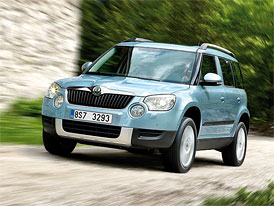 Škoda Yeti získala tituly Auto roku 2010 v ČR i Auto roku KMN 2010