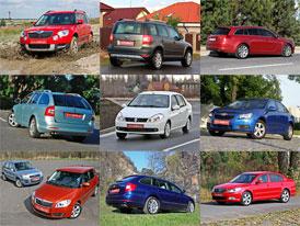 25 nejčtenějších testů na Auto.cz za rok 2009