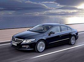 Volkswagen Passat CC: Od ledna levnější, první cena 703.300,- Kč