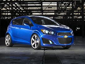 Chevrolet Aveo RS Show Car: Rychlé supermini v Detroitu