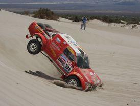 Rally Dakar 2010 (5. etapa) – problémový den pro lídry, dobrou formu potvrzuje Bražina (+ fotogalerie)