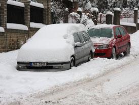 Sníh na českých silnicích 2010 (fotogalerie)