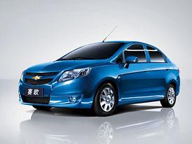 Chevrolet New Sail: Nový malý sedan pro Čínu
