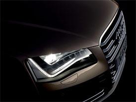 Audi A8 Hybrid se ukáže na autosalonu v Ženevě