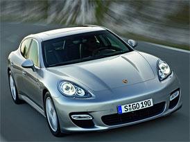 Porsche v ČR prodalo za 4 měsíce loňského roku 56 vozů řady Panamera