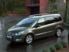 Ford S-Max a Galaxy 2010: Podrobné technické údaje a nové fotky