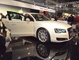 Audi A8: První statické dojmy