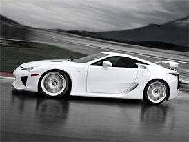 Lexus LFA: Zájemců je více, než kolik bude vyrobeno vozů