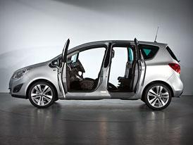 Opel Meriva: Dveře s panty vzadu se vrací (technika, minulost a současnost)
