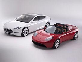 Tesla Motors podala ��dost ke vstupu na burzu, prodejem akc� hodl� z�skat 100 milion� dolar�