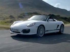 Video: Porsche Boxster Spyder – Nový model na projížďce