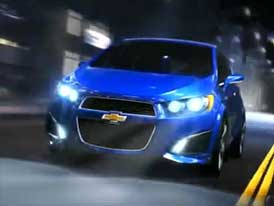 Video: Chevrolet Aveo RS – Sportovně laděný koncept v pohybu