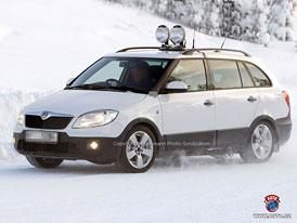 Spy Photos: Škoda Fabia - nižší maska, nové motory
