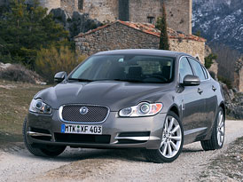 Jaguar XF Edition: 3,0D (155 kW, 450 Nm) jako nový základní model